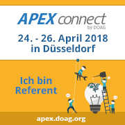 APEX Connect 2018